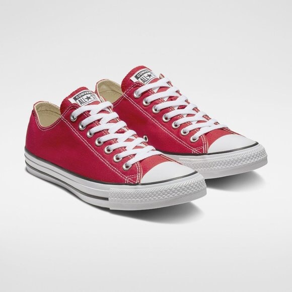 Converse Chuck Taylor All Star Red Low Top Sneaker